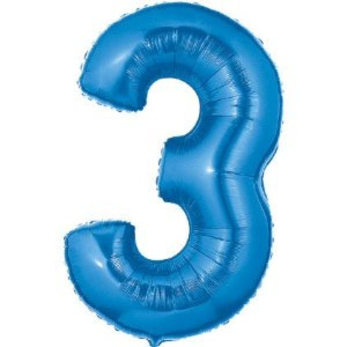 Number 3 Shaped Balloon