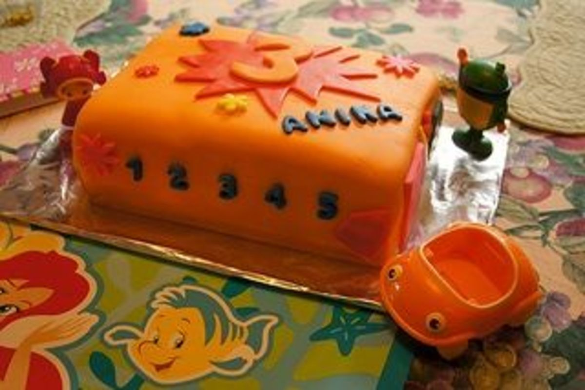 Team umizoomi cake by Wrightbrosfan