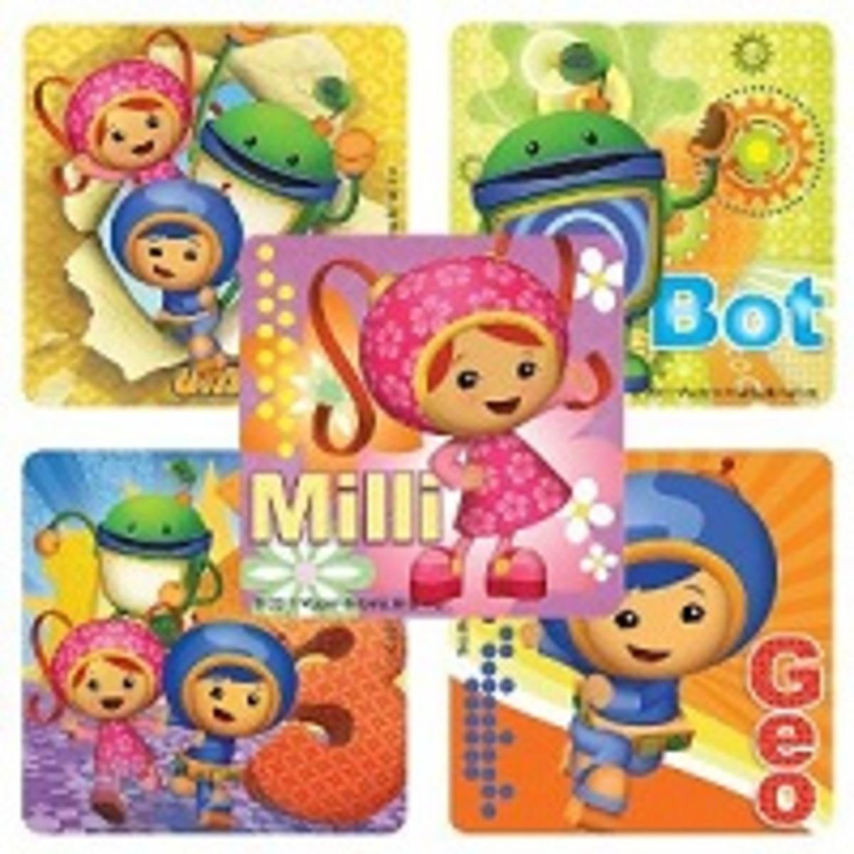 Team umizoomi stickers