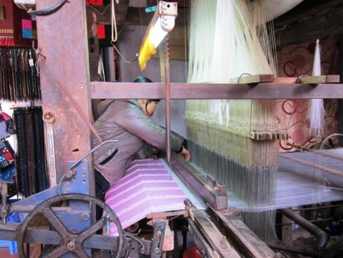Traditional Vietnamese Loom