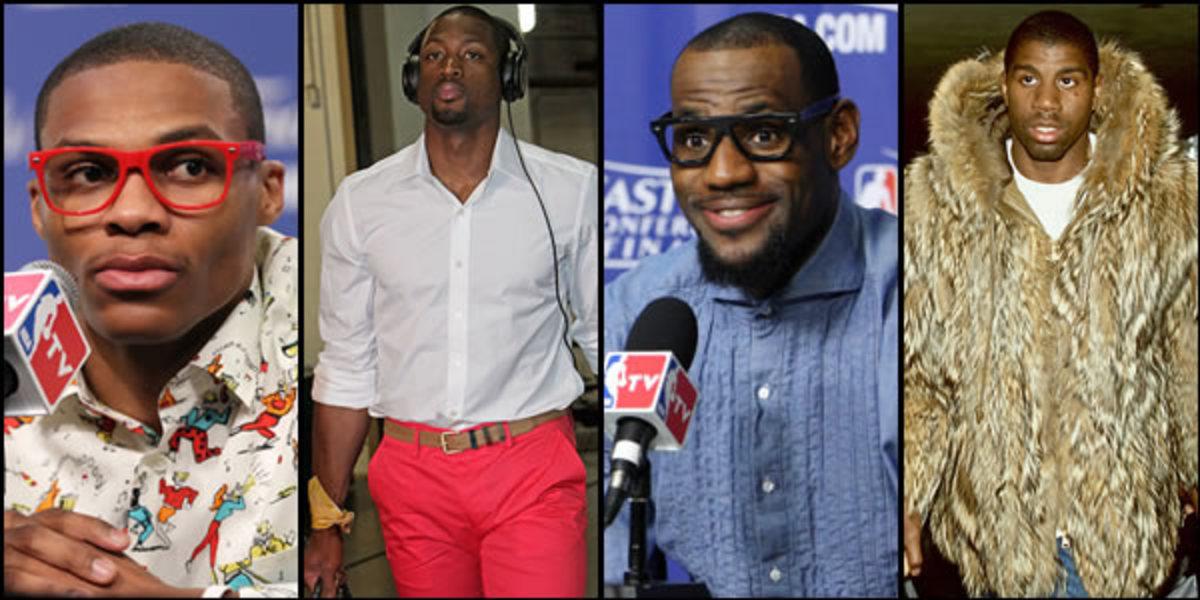 NBA Superstars trying too hard.  Westbrook, Wade, Lebron