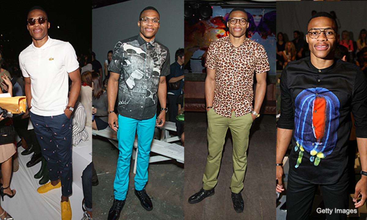 Russel Westbrook - bad fashion All-star