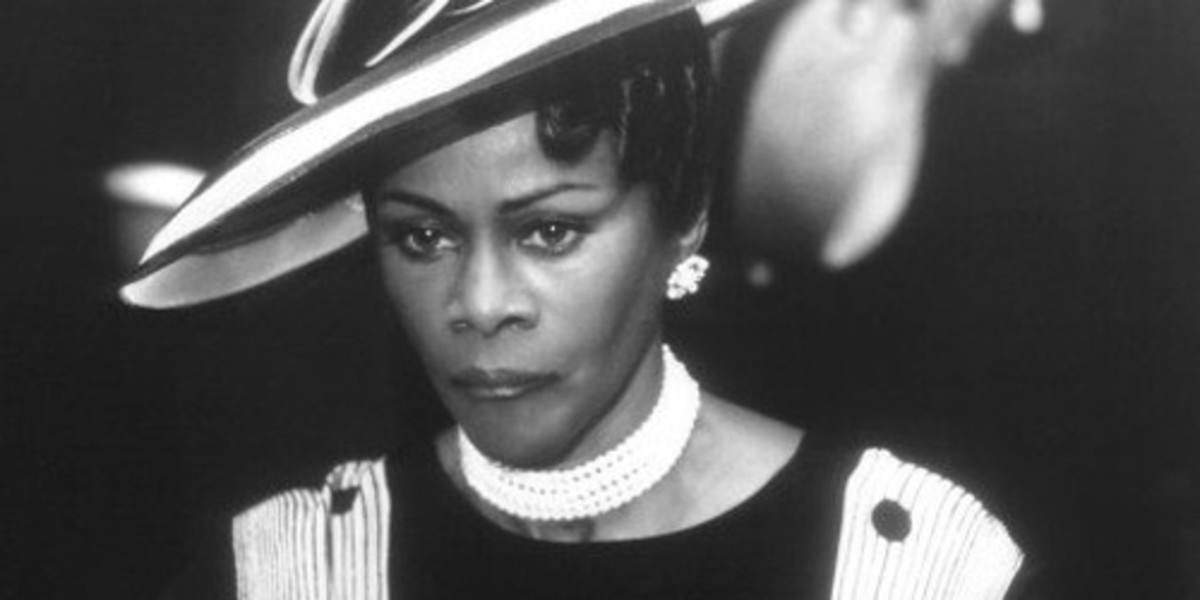 """Cicely Tyson playing the role of Stephanie St. Clair in """"Hoodlum"""", 1997"""