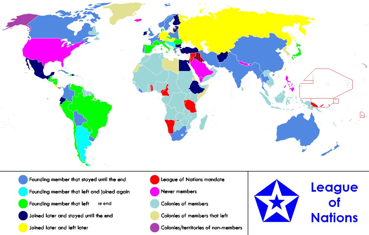 A map regarding members.