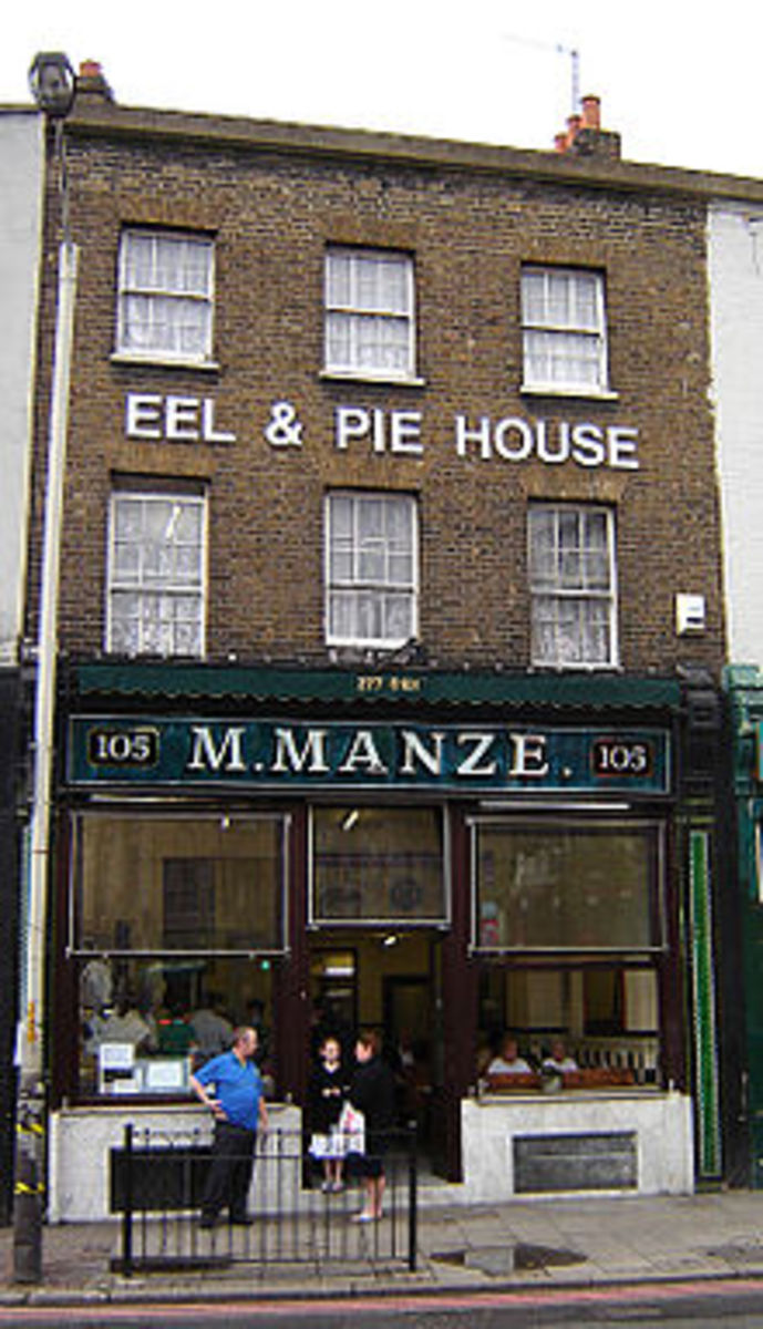 Oldest eel and pie house still open