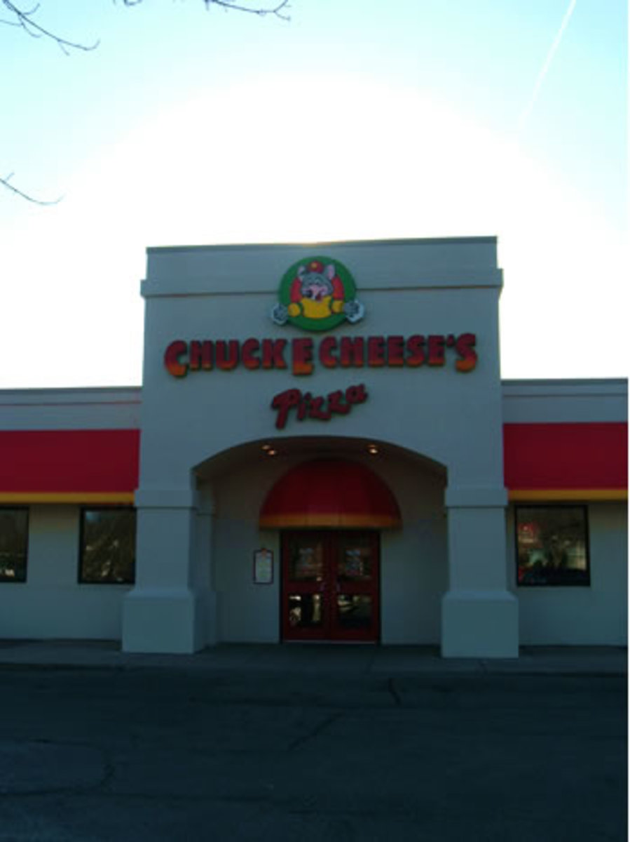 Chuck E Cheese is a great place for a birthday party!