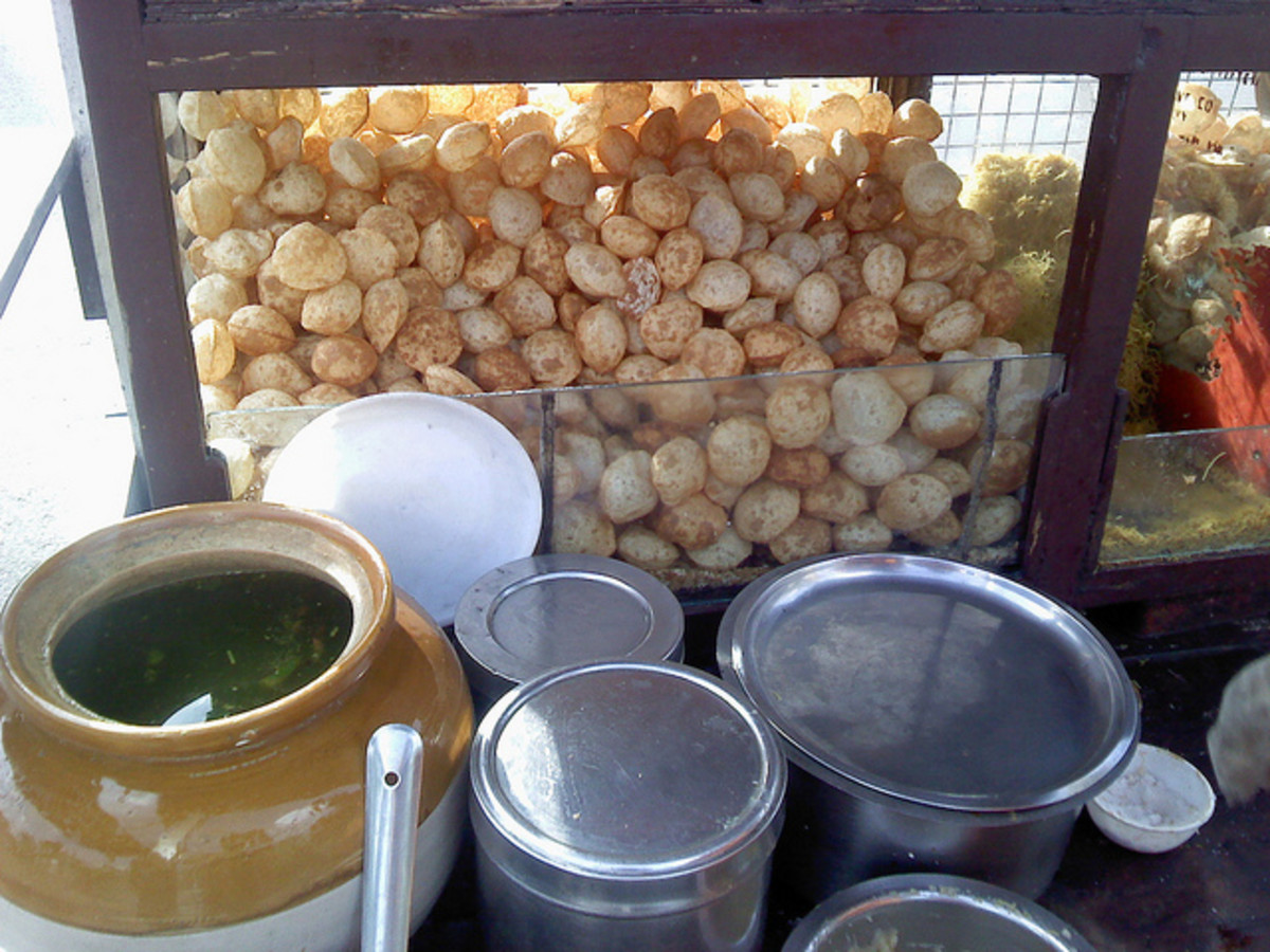 Another pani puri vendor