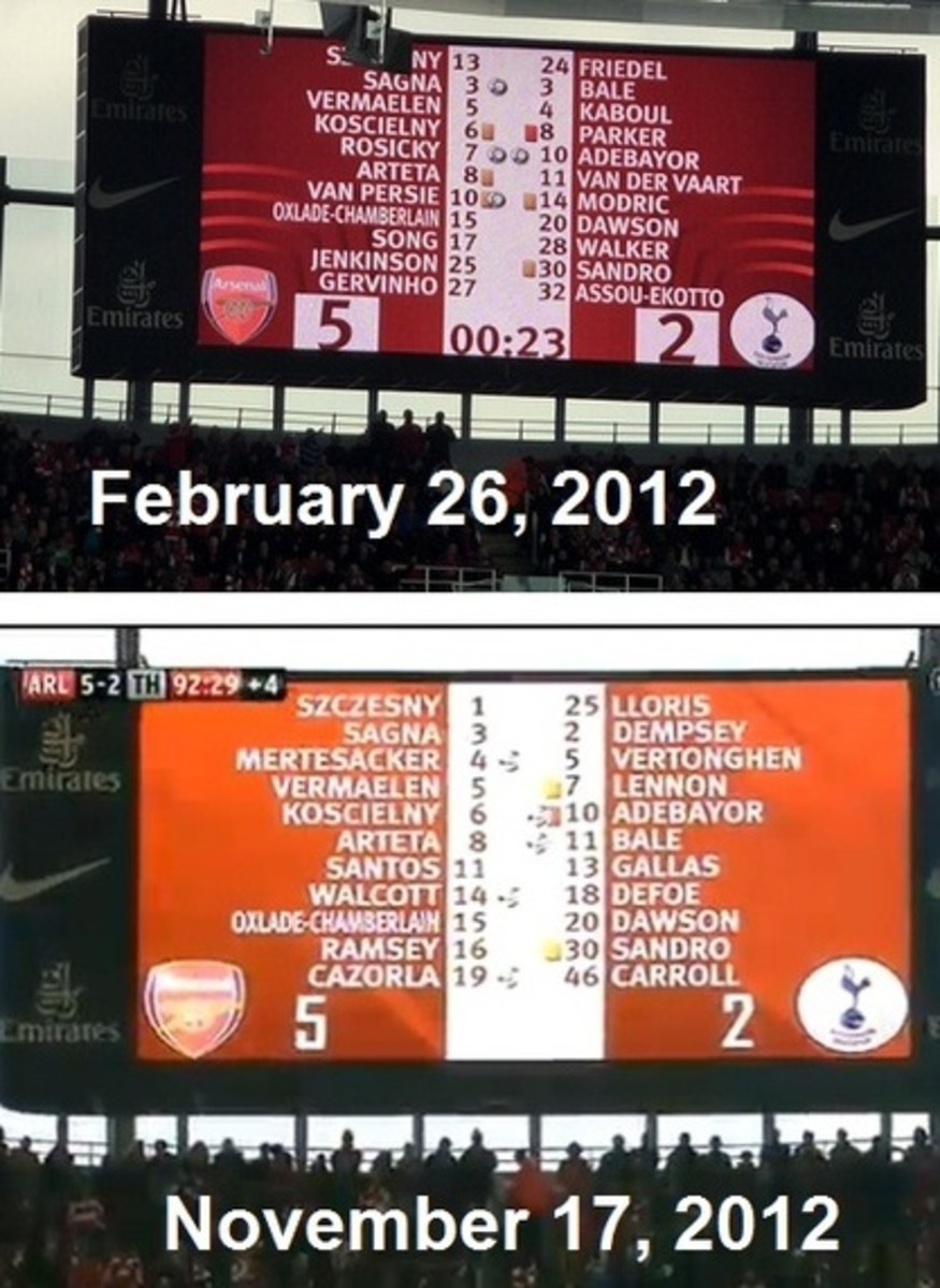 Deja vu? Arsenal destroy Spurs 5-2 again.