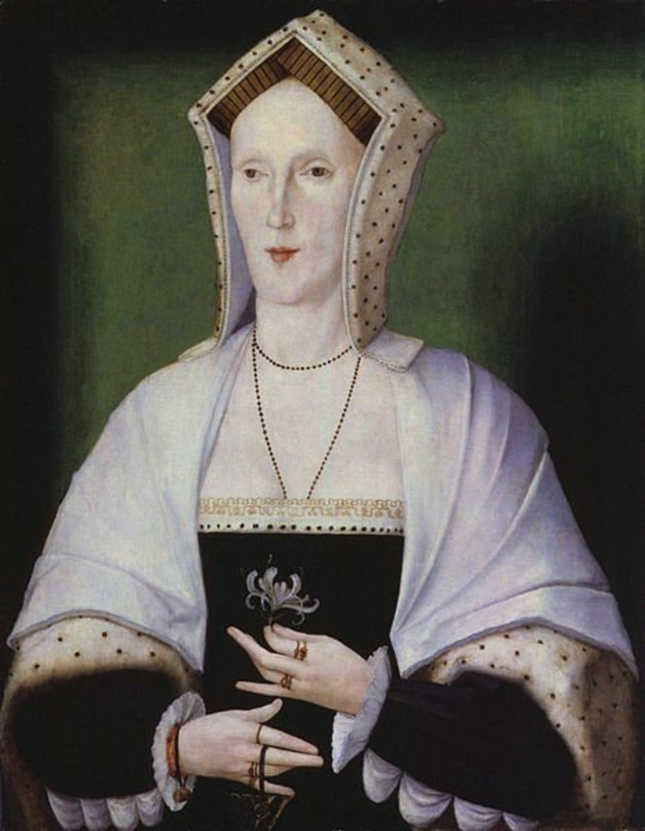 This portrait of an unknown woman is thought to be Lady Margaret Pole