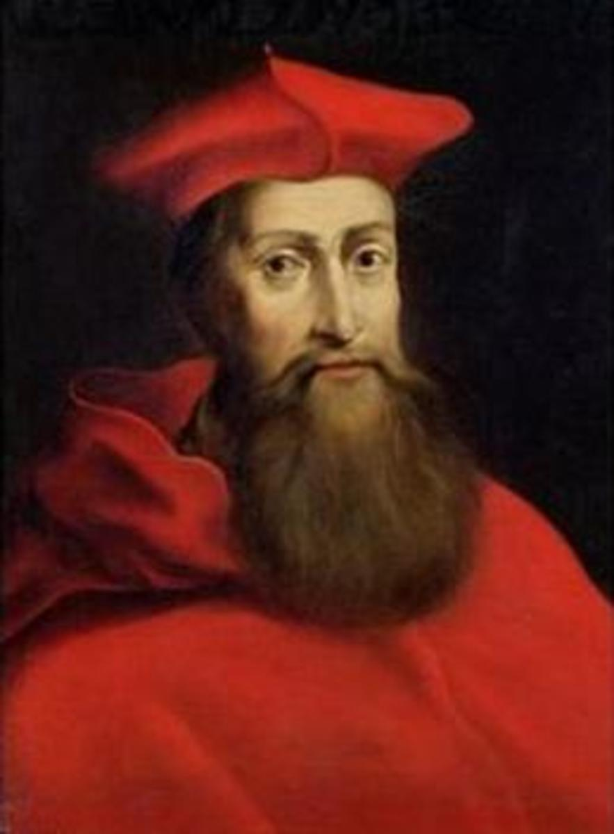 Portrait of Cardinal Reginald Pole