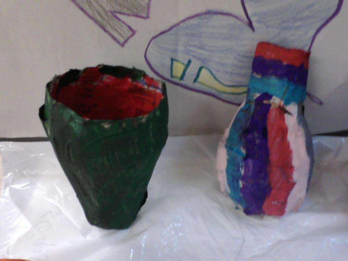 Fourth grade bowls and vases