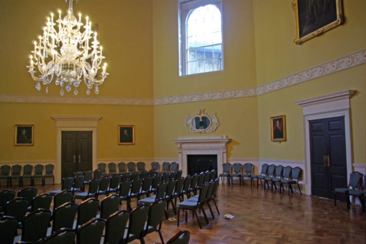 The Assembly Rooms, Bath - Jane Austen's Persuasion had many scenes in this room