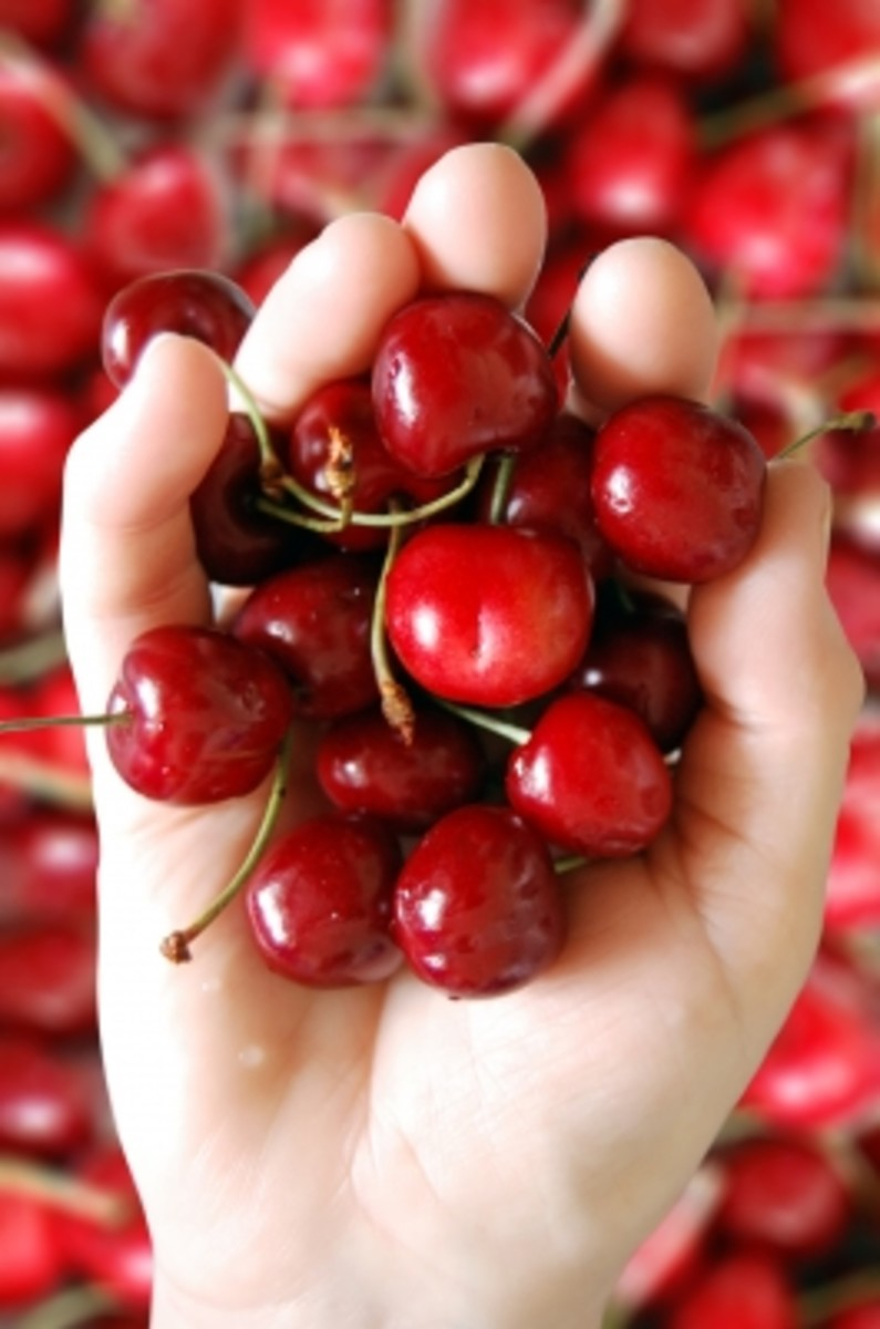 when making face masks make sure to have a good handful of cherries so you may add extra if needed.
