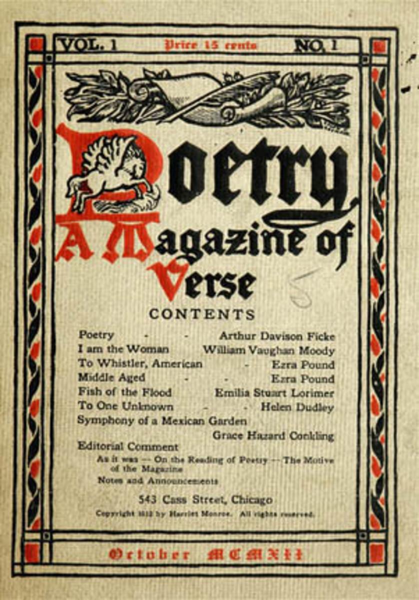 Poetry Magazine - 1912