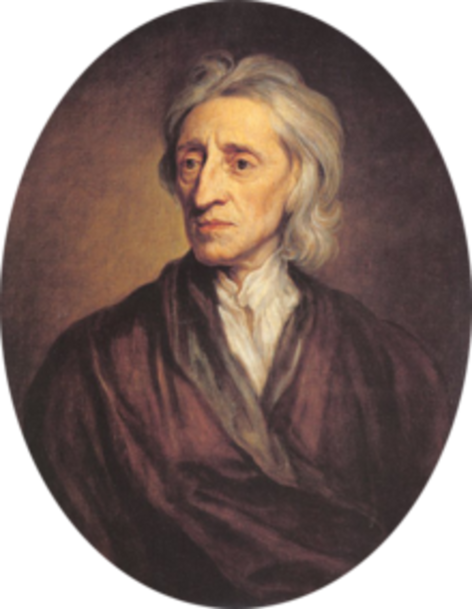 John Locke was an influential philosopher and physician who proposed the idea that the mind was a blank slate (tabula rasa) that is moulded by the influences and experience of the person.