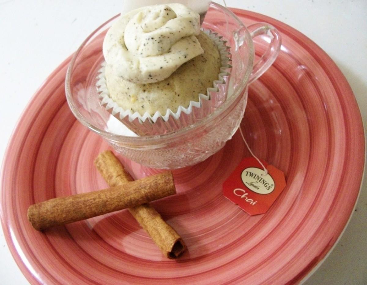 Chai Tea Cupcake