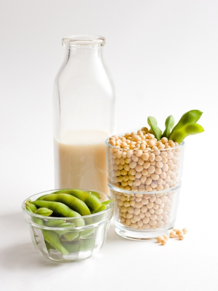 Soy can be used as an alternative to dairy in many soy recipes because it comes in different forms.