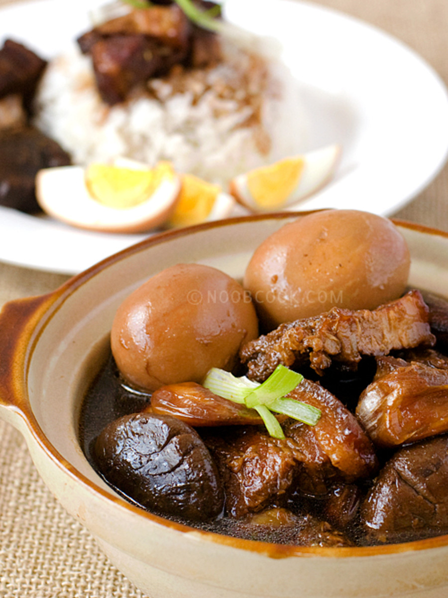 Braised Pork Belly- Hokkien Style also known as Tau Yew Bak