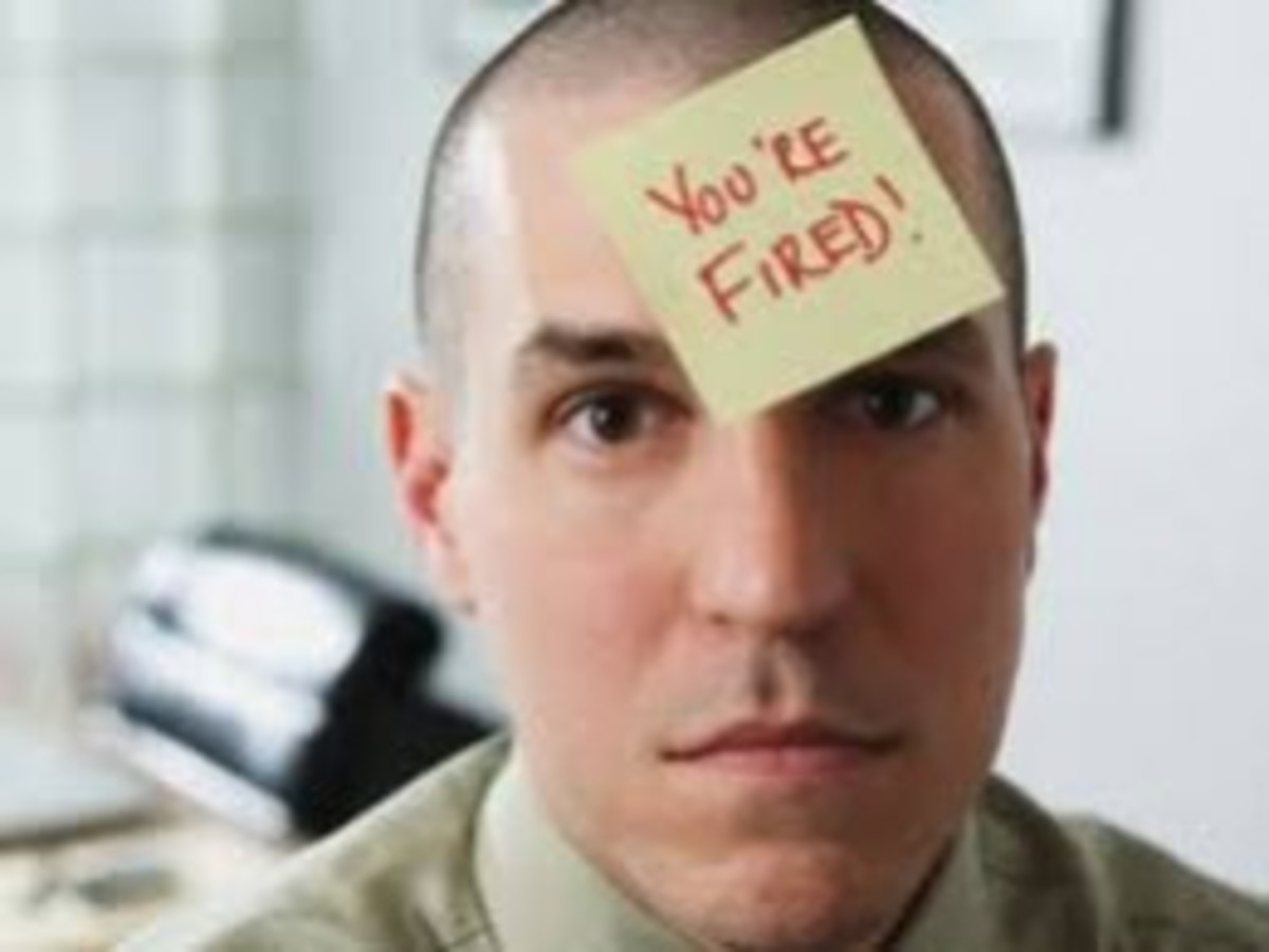 Were you ever fired from your job? If so, did you bounce back or did you ......simply give up?