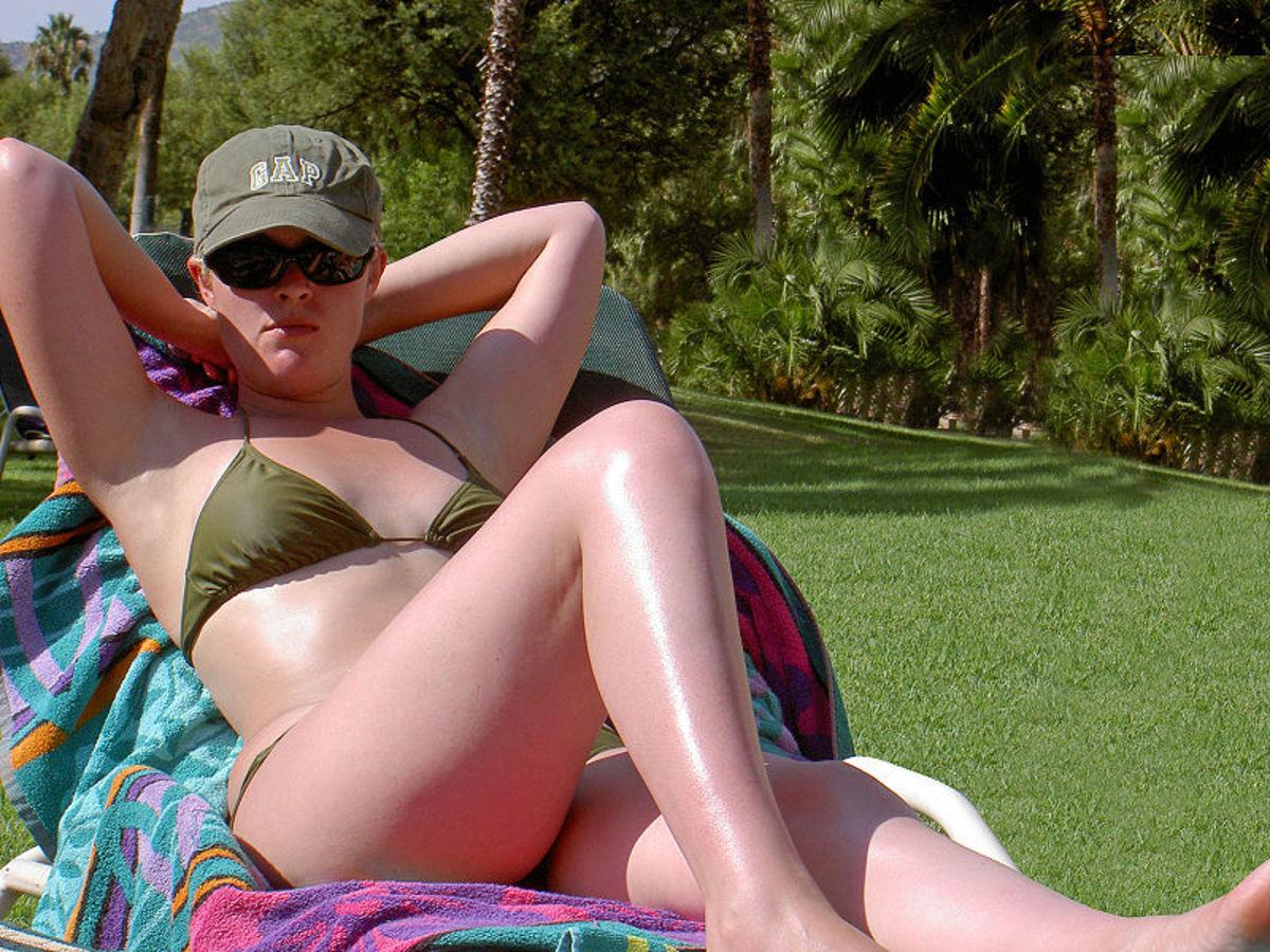 Sunbathing gives Vitamin D
