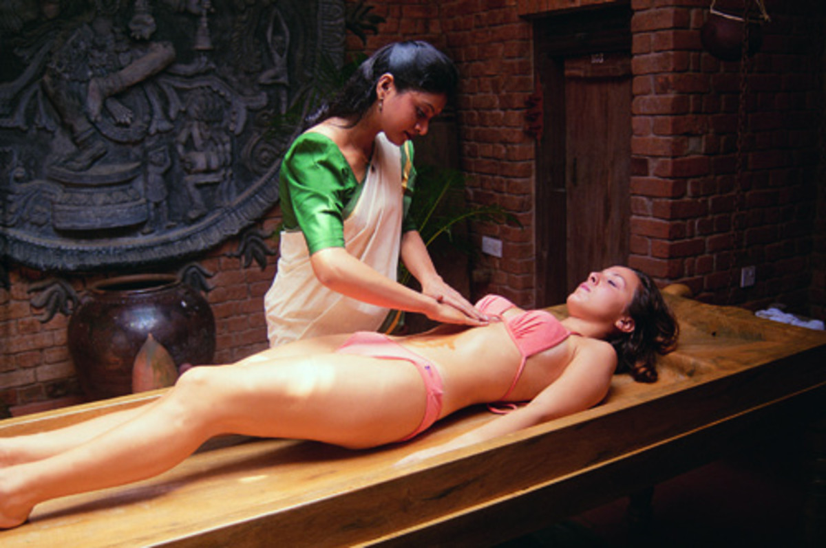 Massage removes the toxins from body