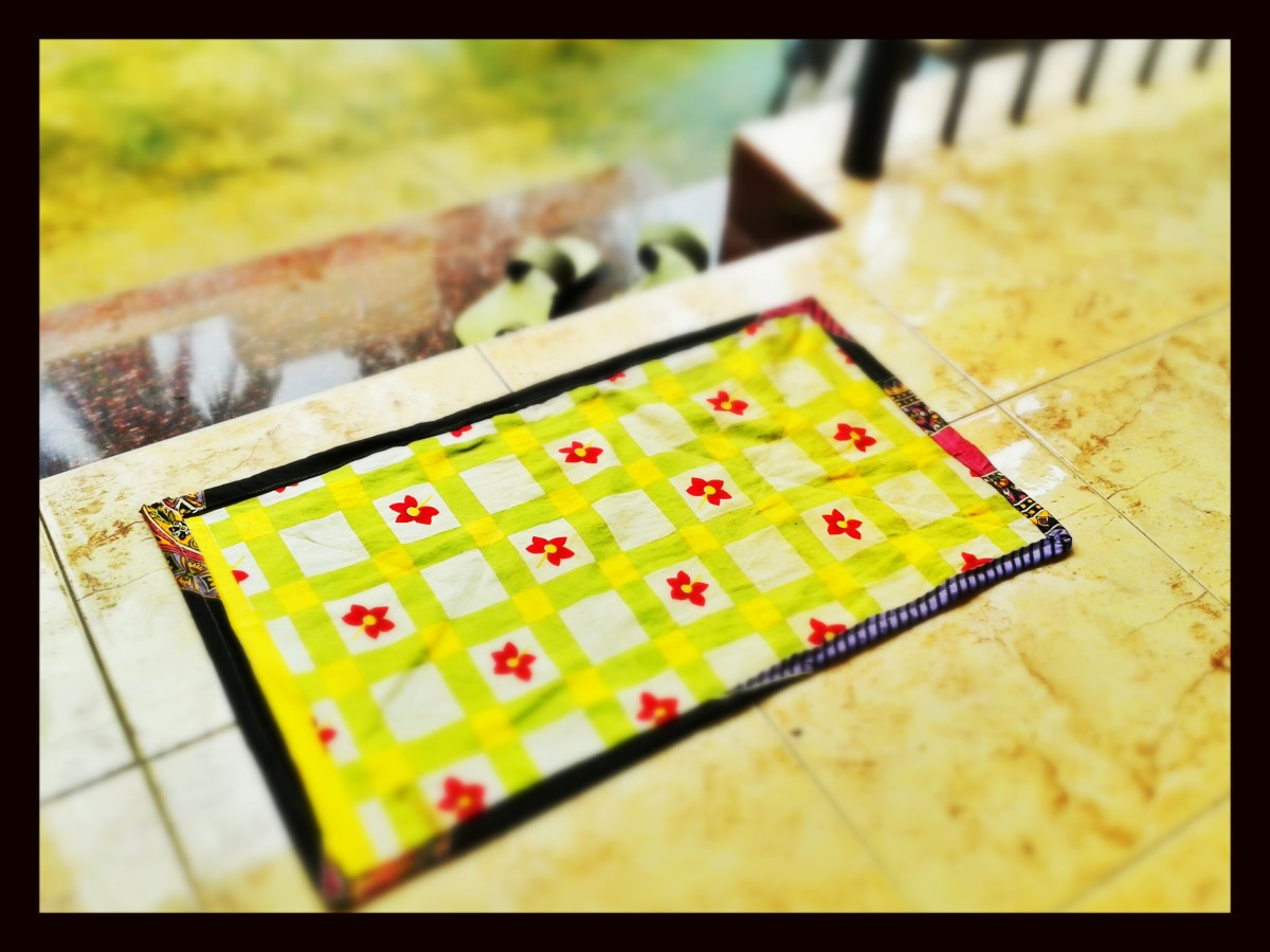 How To Make Doormat At Home From Old Clothes Hubpages