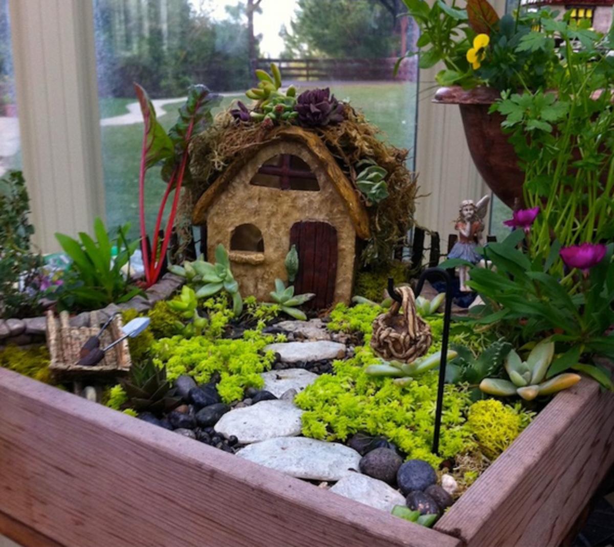 Miniature Garden for Kids