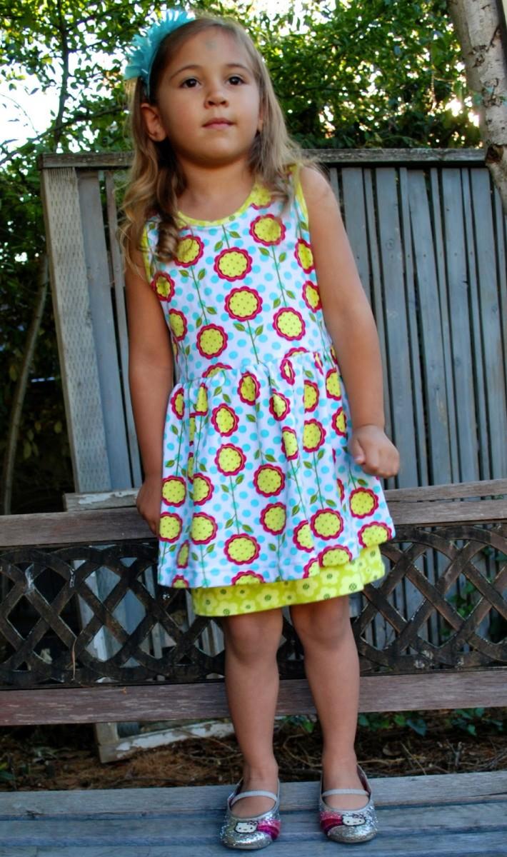 Peep Hem Dress Tutorial