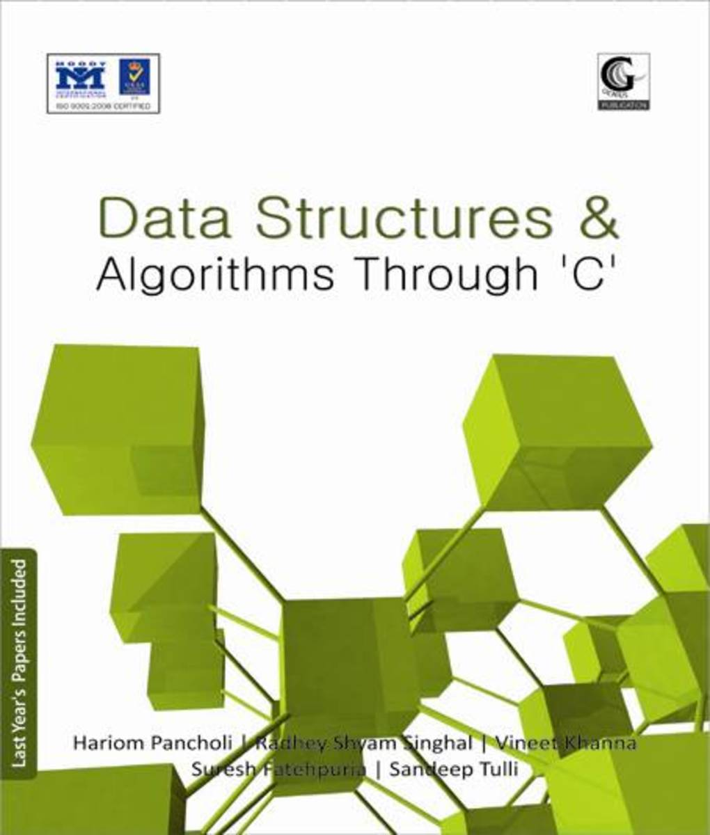 Data Structure Algorithms using C Book