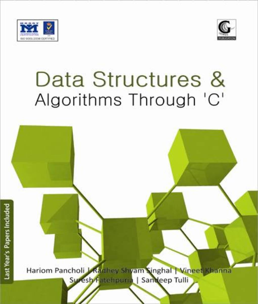 Data Structure Algorithms using C Book