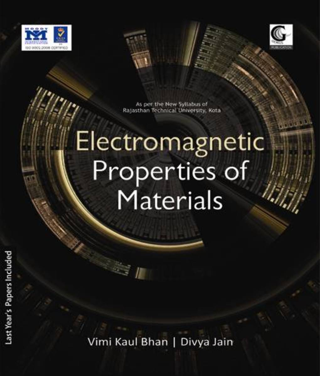 Electromagnetic Properties of Materials Book