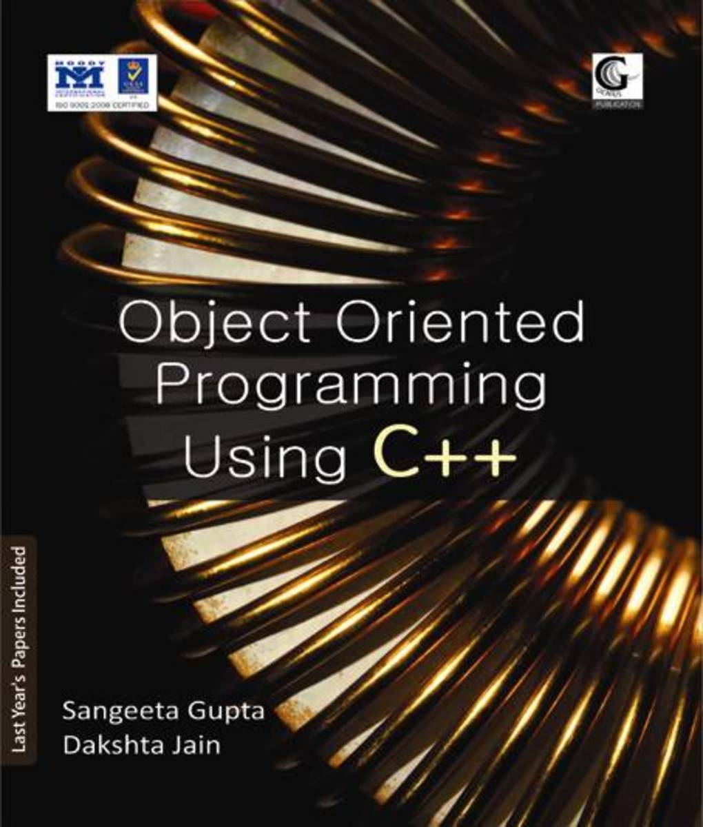 Object Oriented Programming Using C++ Book for ME
