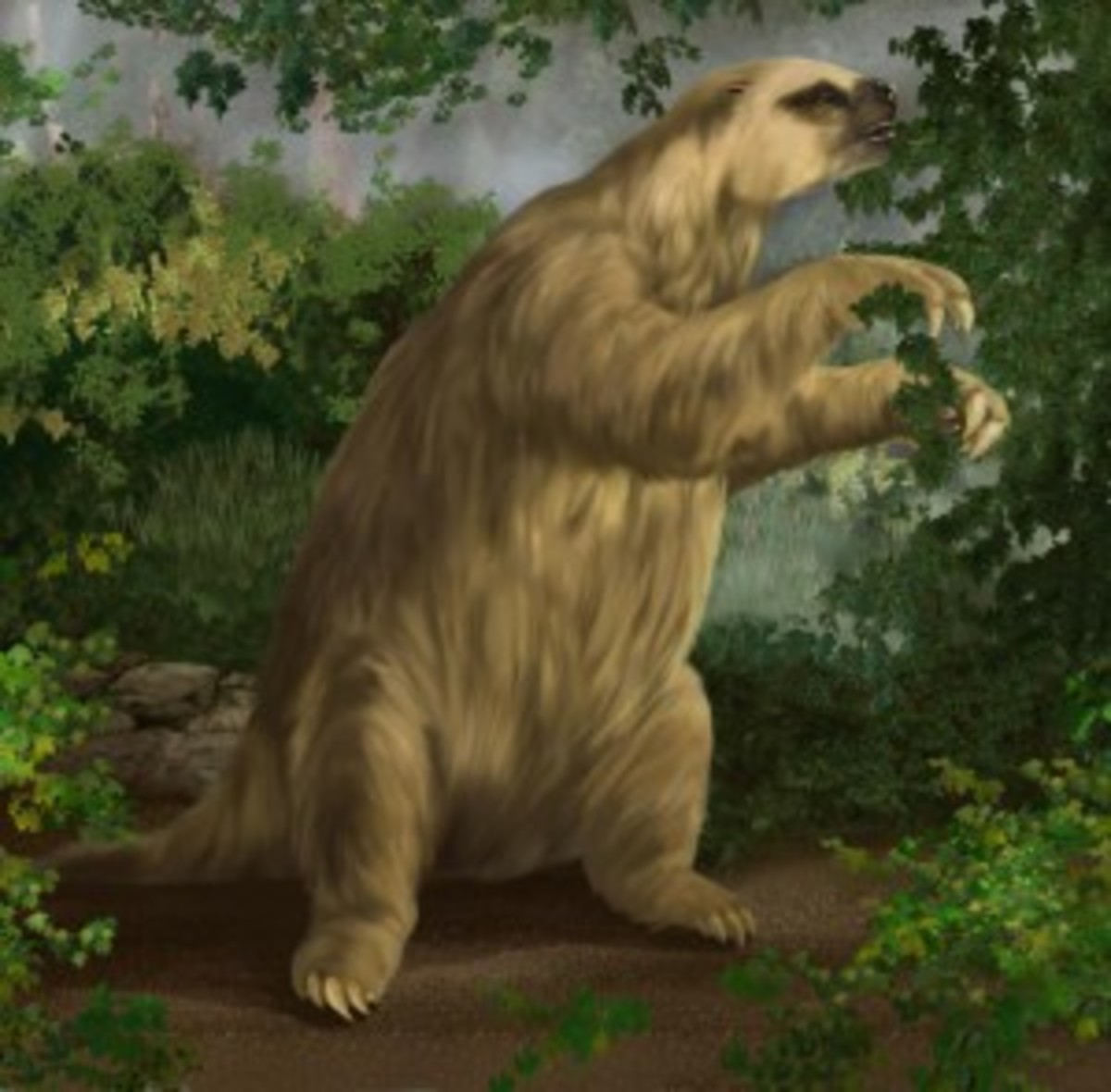 Should we de-extinct animals? How about cloning a Giant Ground Sloth?