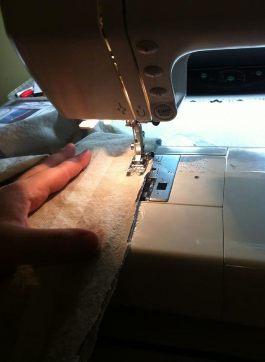 Sewing...