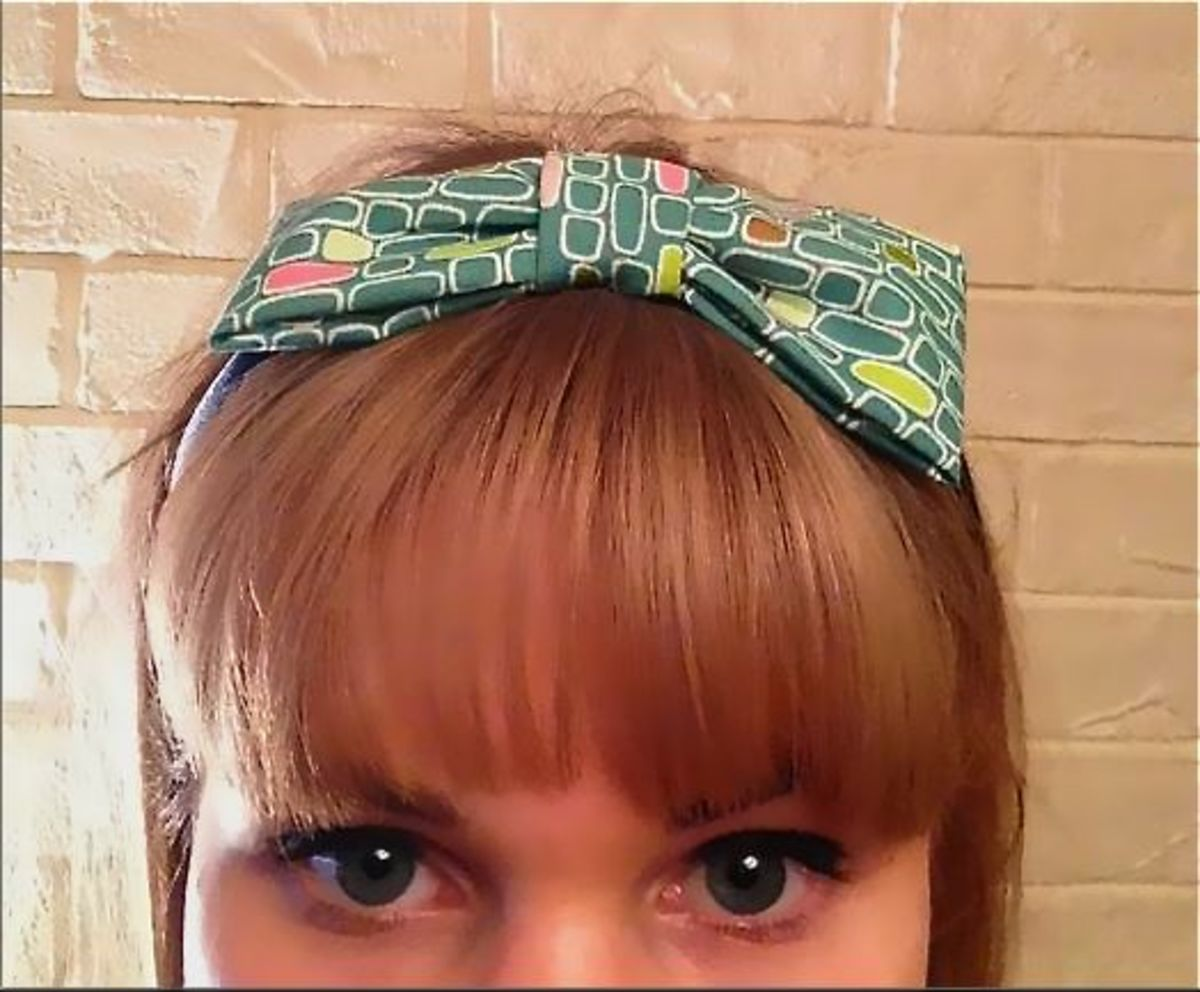 A classic fringe looks great with a retro headband