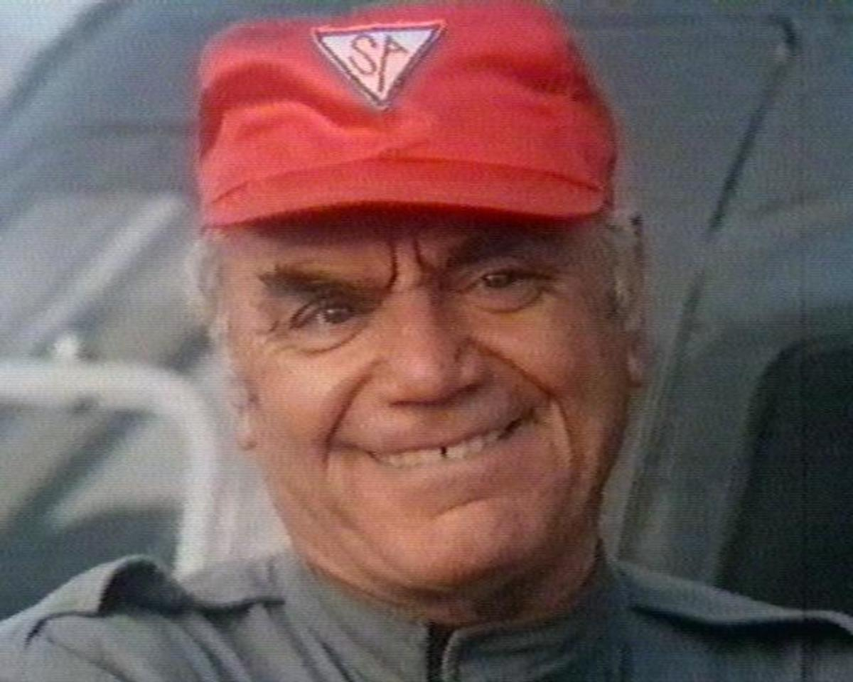 Dominic Santini played by legendary actor Ernest Borgnine