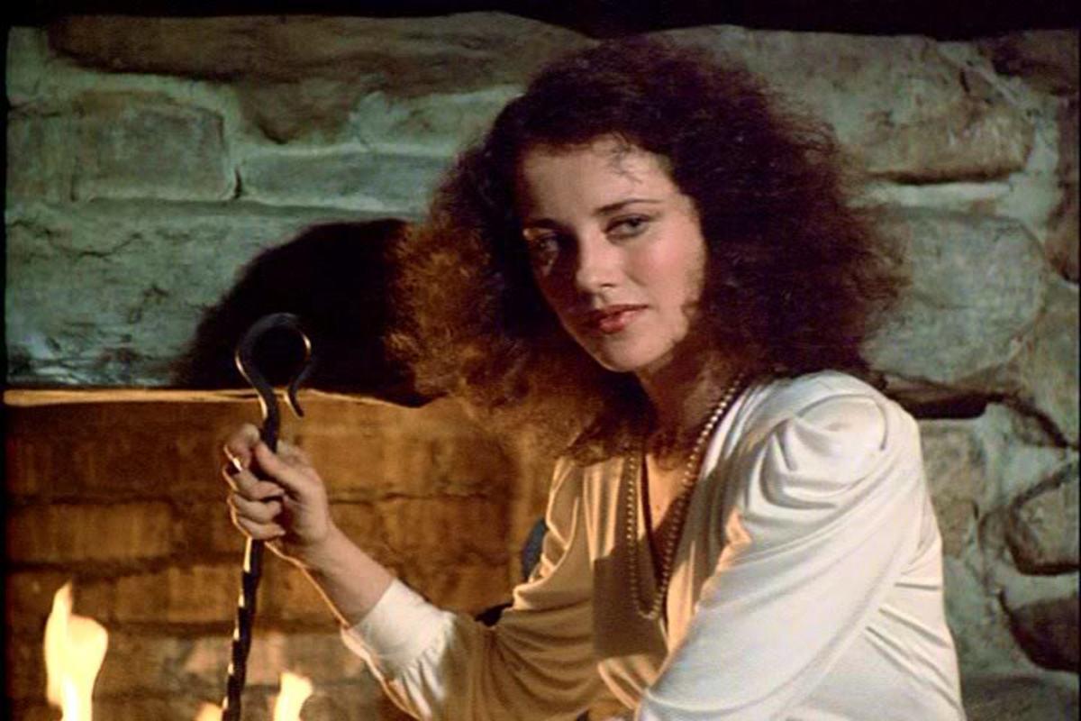 Belinda Bauer as Hawke's love interest Gabrielle Ademaur in Shadow of the Hawke