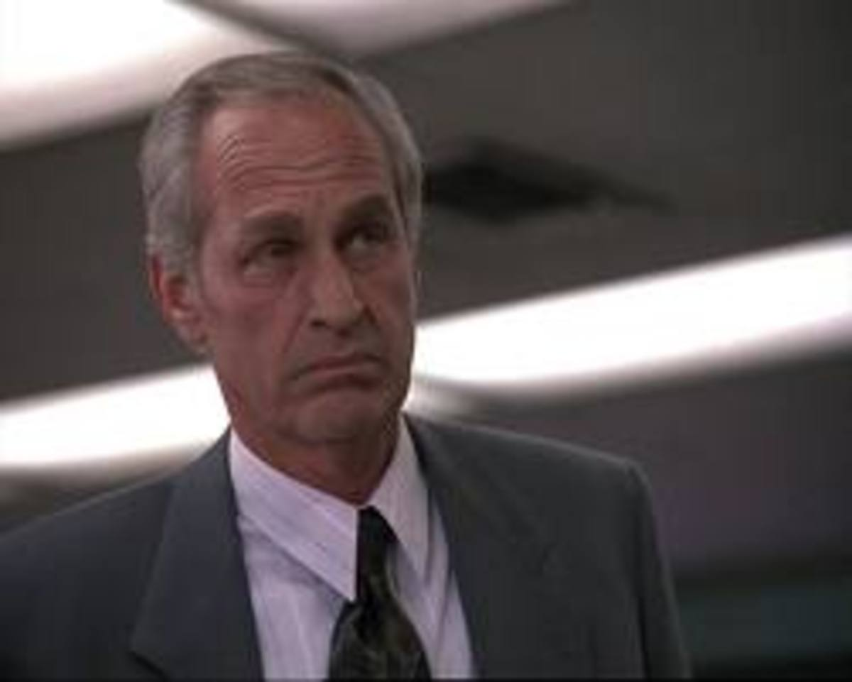 Government Bureaucrat D.G. Bogard (played by Lance LeGault) wants to get his hands on Airwolf