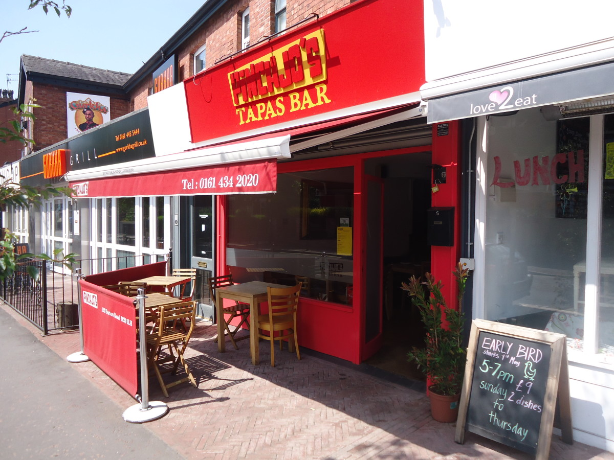 Best West Didsbury Restaurants: Pinchjo's Tapas Bar, West Didsbury
