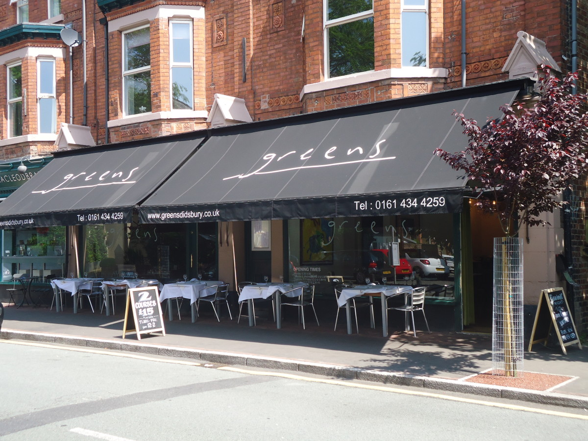 Best West Didsbury Restaurants: Greens, West Didsbury