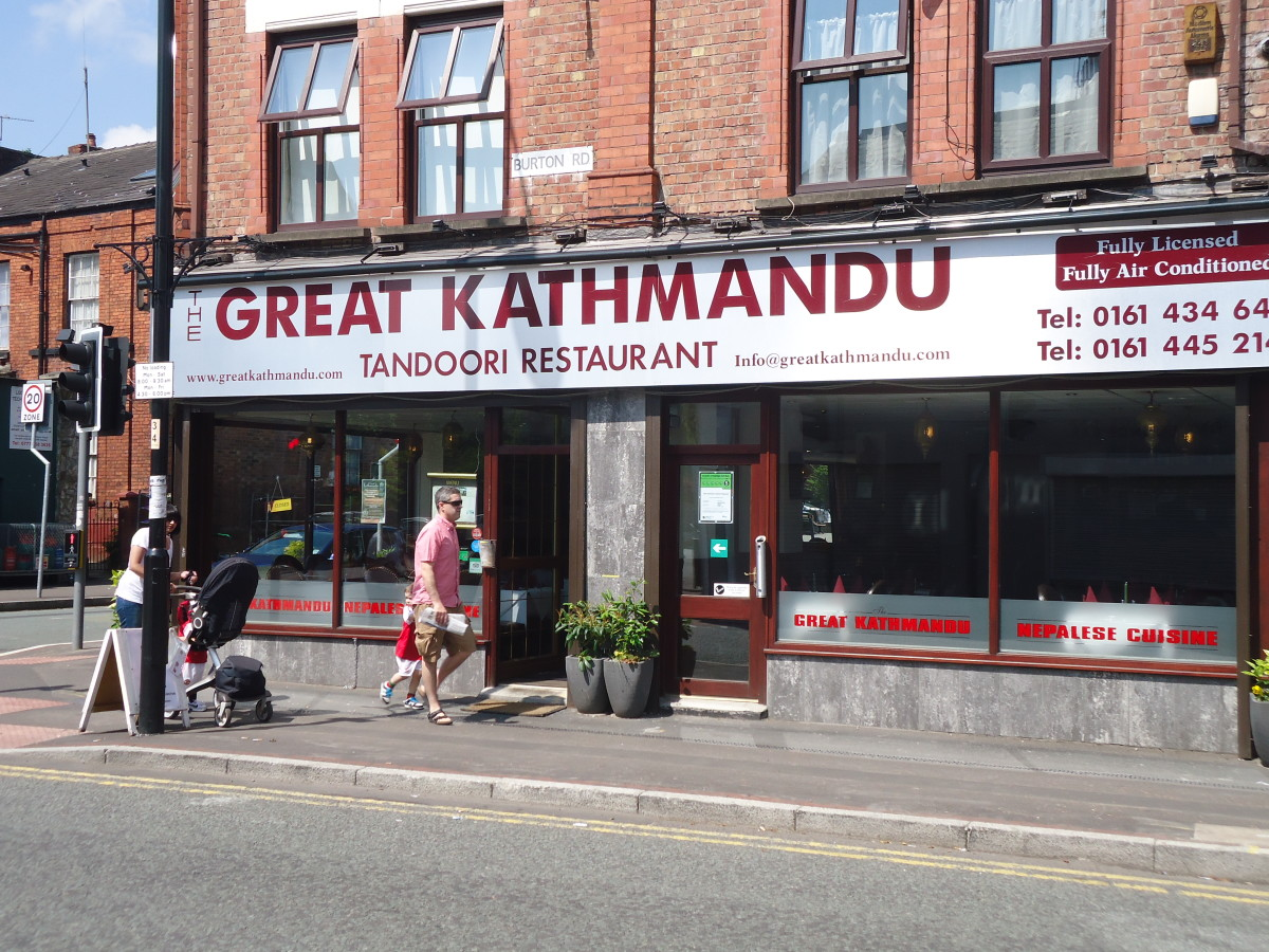 Best West Didsbury Restaurants: The Great Kathmandu, West Didsbury