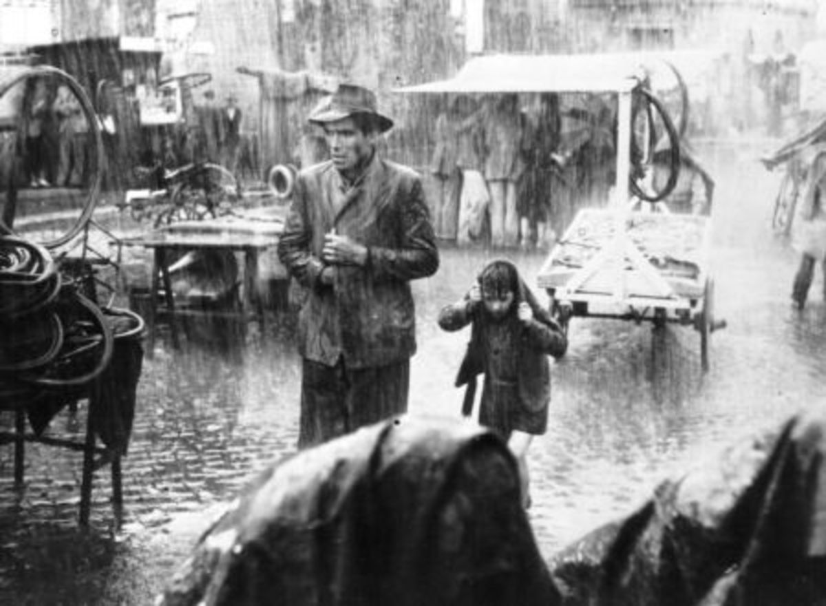 Bicycle Thief, Vittorio De Sica