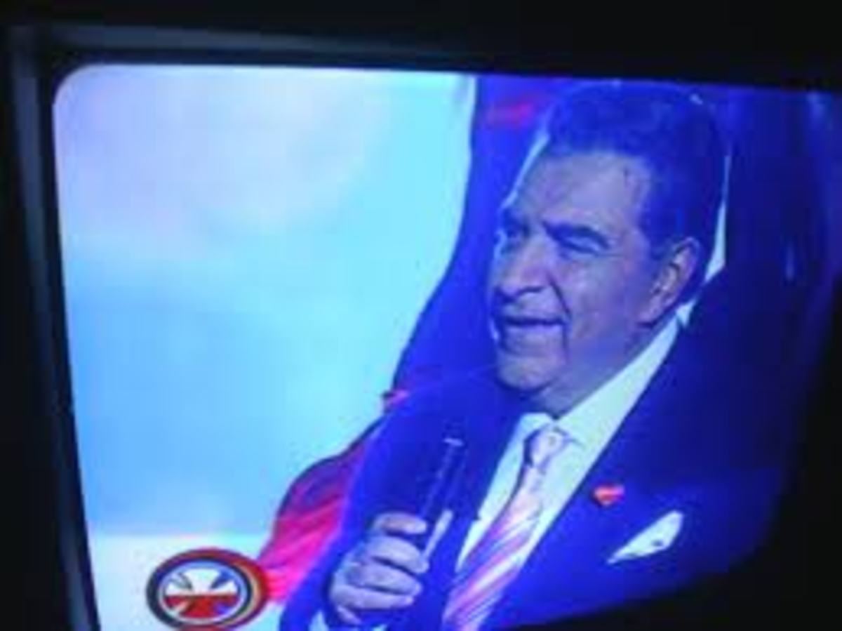 Don Francisco, the show's only host.