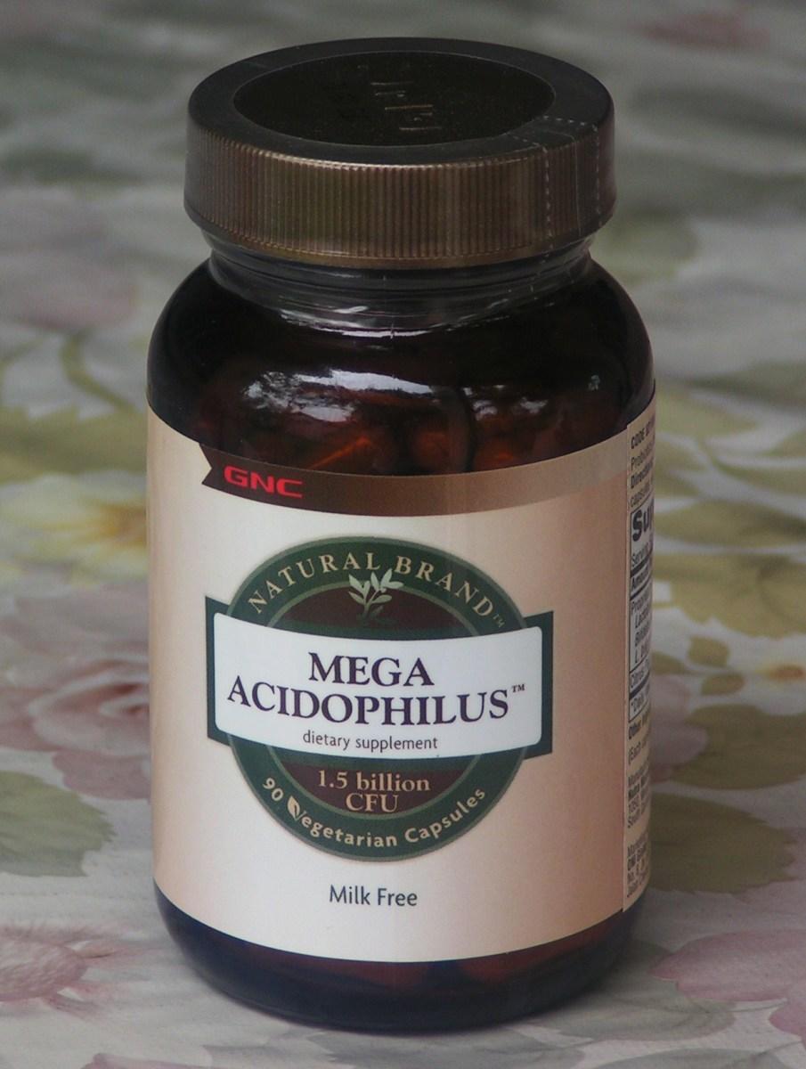 Mega acidophilus supplement