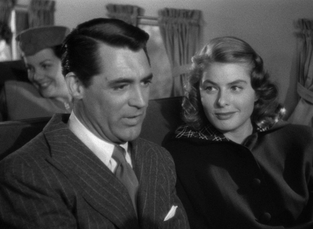 """Cary Grant in Alfred Hitchcock's """"Notorious"""""""