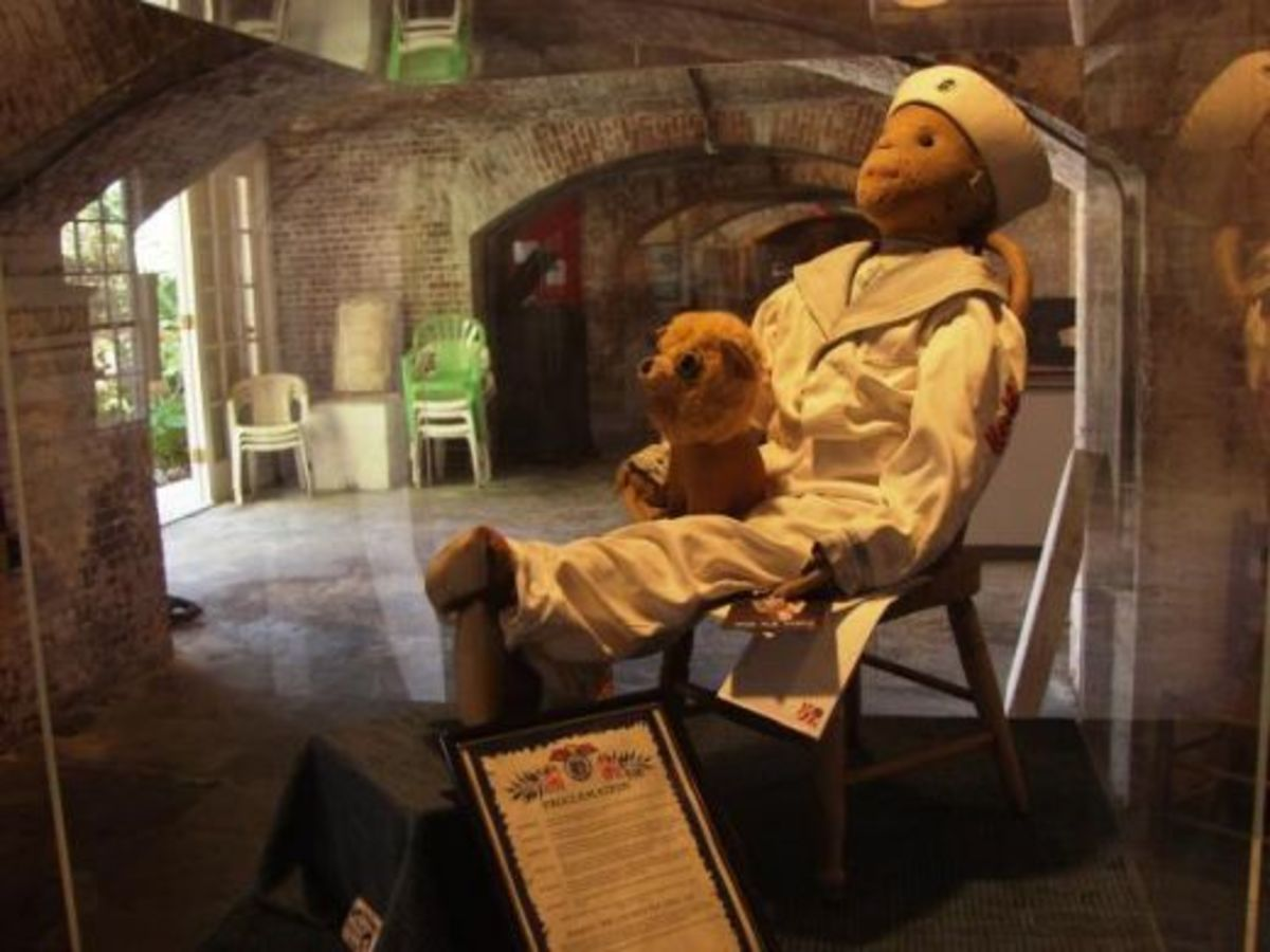 Robert The Doll or Robert The Haunted Doll is one of the spookiest things I have ever seen. I really believe it is cursed with a voodoo curse.