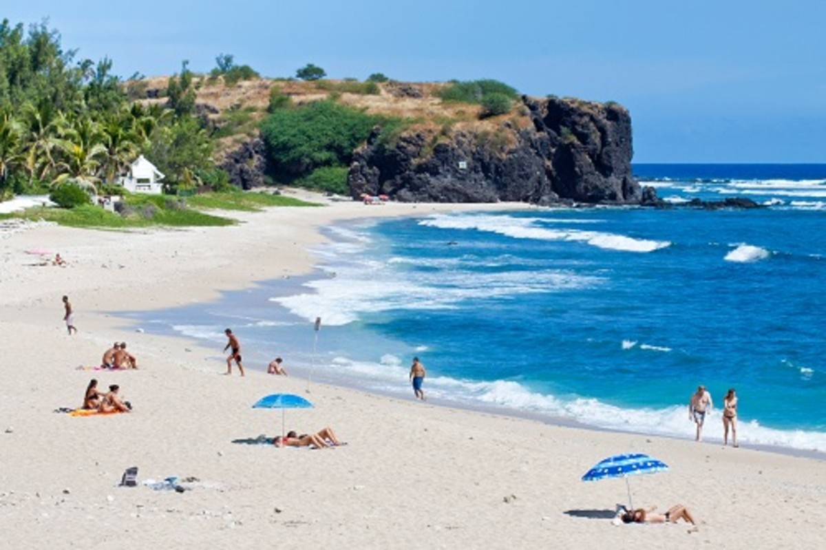 Boucan Canot Beach, Reunion Island