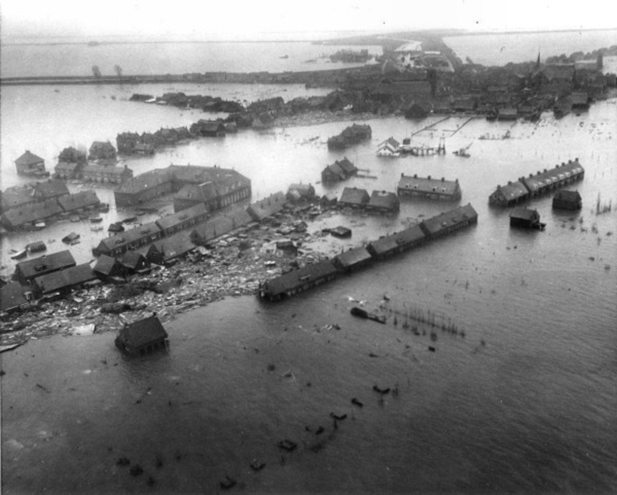 Flood of 1953 in the Netherlands