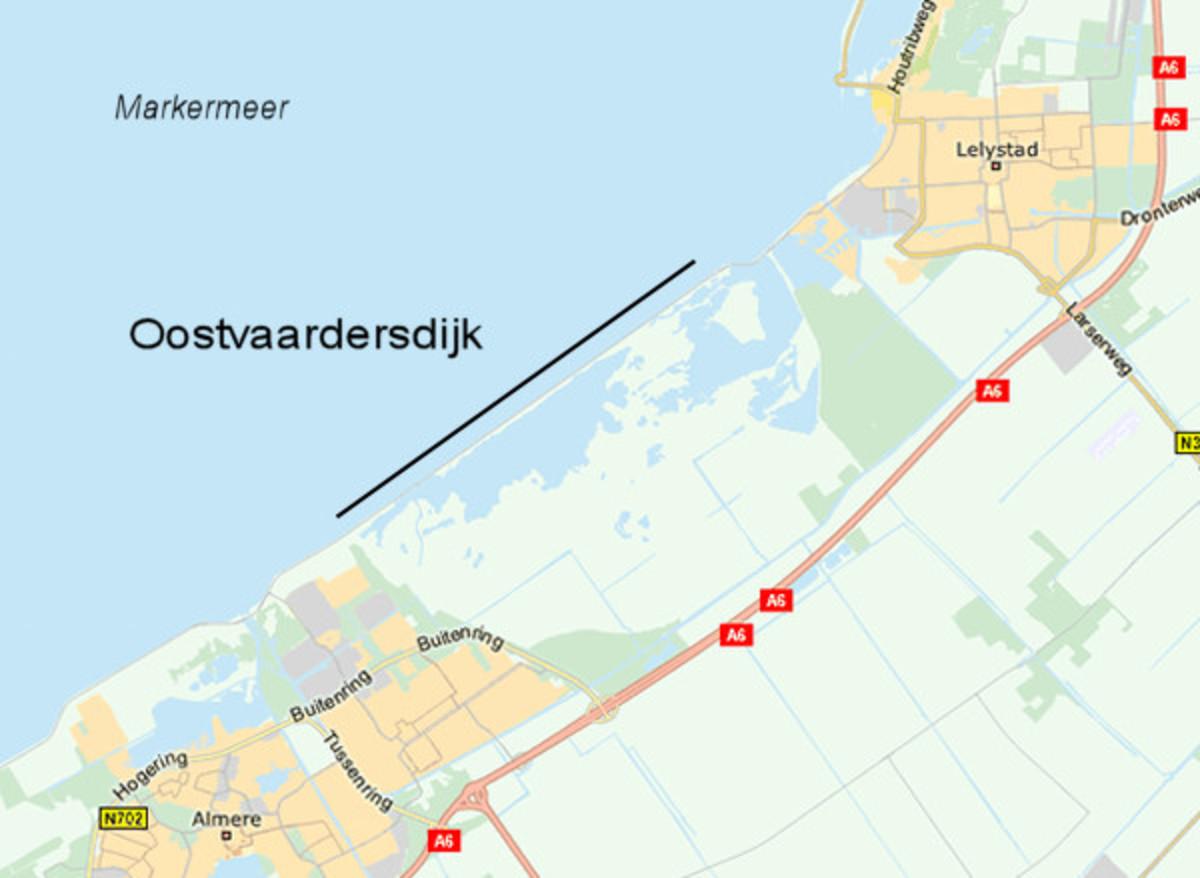 The Oostvaardersdijk Is One of the Most Beautiful Scenery Roads