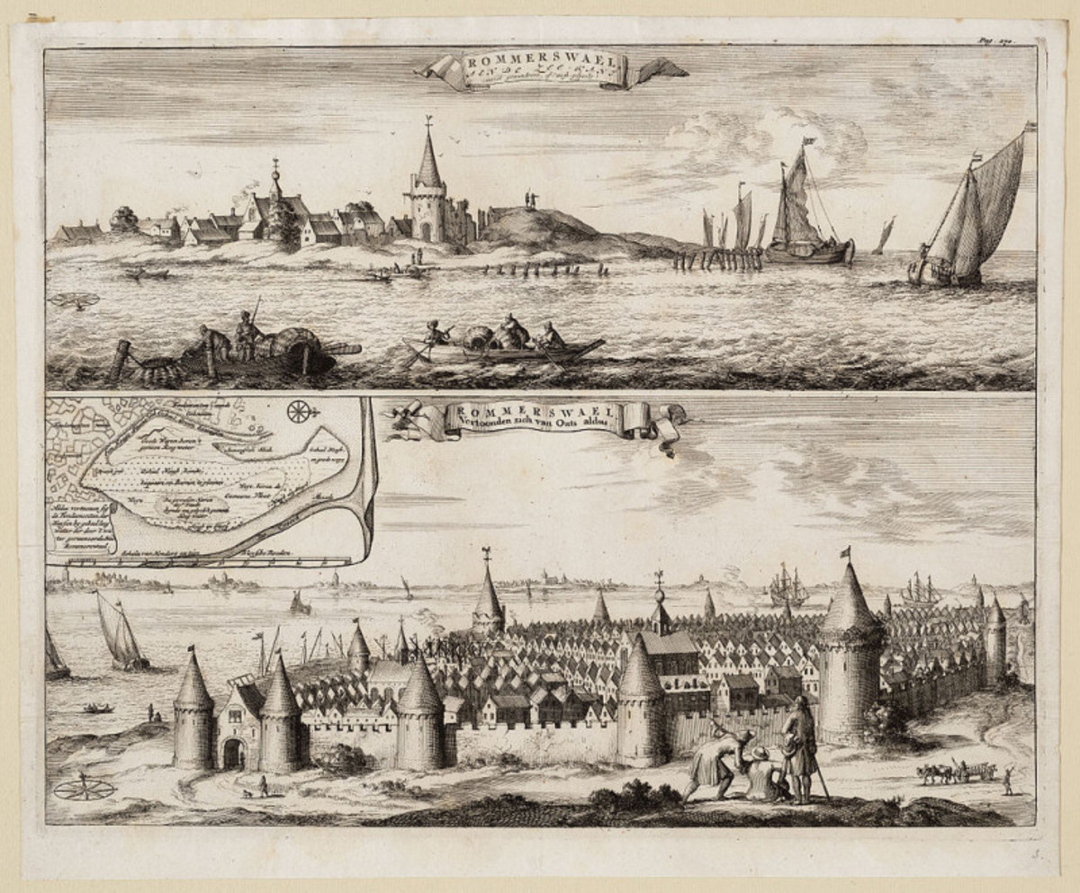 St. Felix Flood in the Netherlands 1530